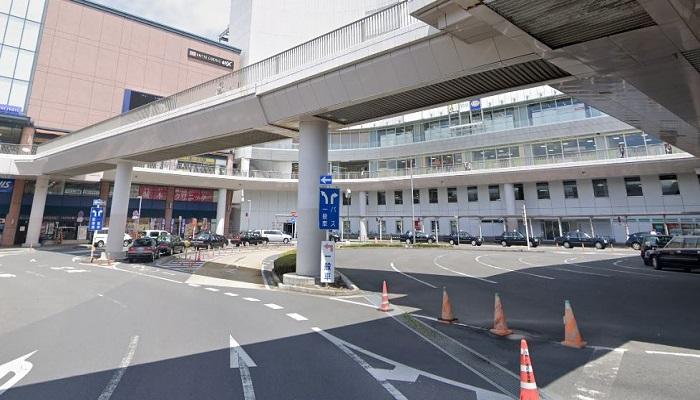 水戸駅前南口広場