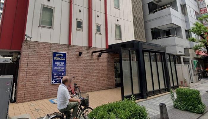川崎市ラブホテル「パルティノン」