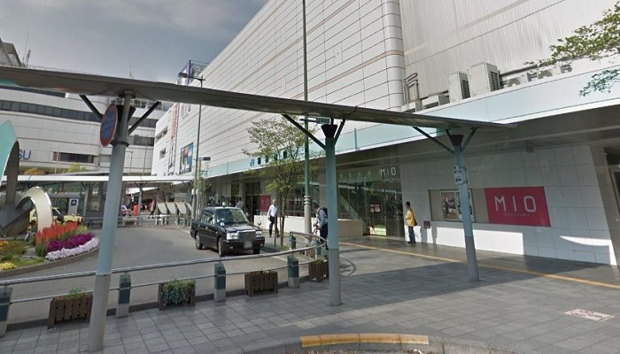 JR和歌山駅西側出口広場