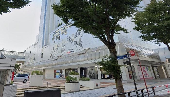 西武秋田店前