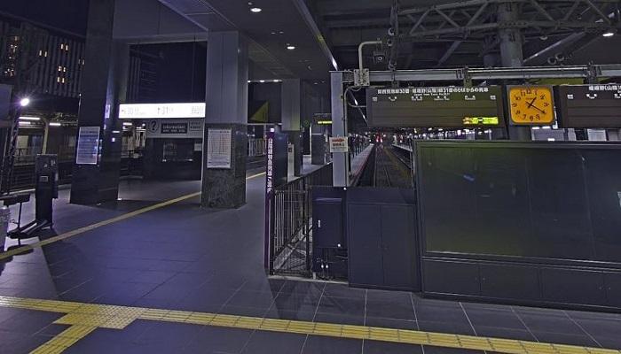 JR京都伊勢丹前