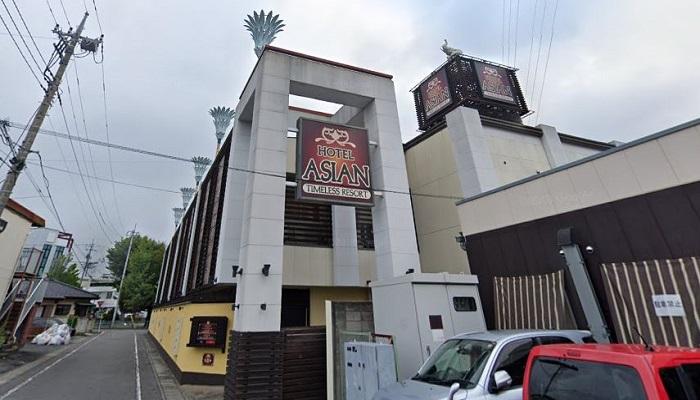 高崎市ラブホテル「アジアン」