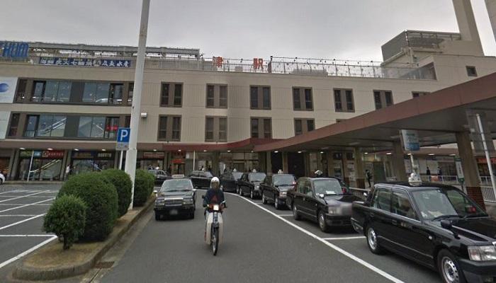 JR津駅東側ロータリー
