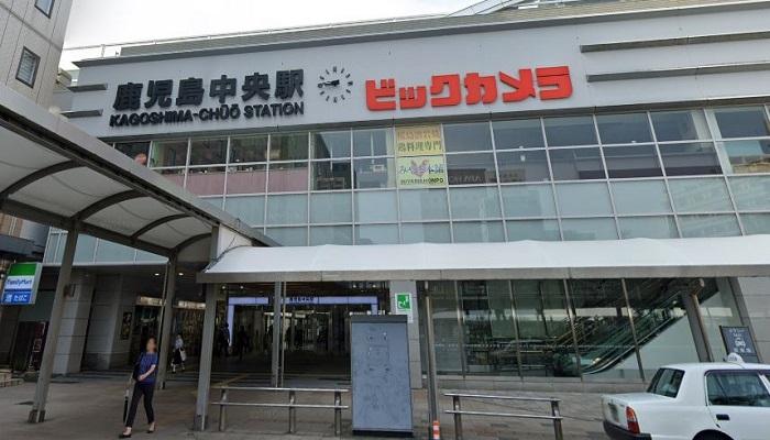鹿児島中央駅西口広場